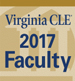 2017 VirginiaCLE Faculty Badge 75px