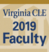 2019 VirginiaCLE Faculty Badge 75px