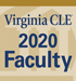 2020 VirginiaCLE Faculty Badge 75